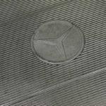 Classic rubber Mercedes mat